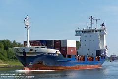 ATLANTIC COMET (9113733) (005-06.08.2015) (HWDKI) Tags: ship vessel containership schiff kiel nordostseekanal imo nok landwehr containerschiff kielcanal delfs sietas atlanticcomet hanswilhelmdelfs 9113733