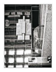 """Lobby Reflections,Hilton Hotel, Madrid, Spain, #8"" (Vincent Galassi) Tags: madrid blackandwhite usa abstract reflections hotel photo spain lasvegas nevada vincent hilton lobby vg galassi vincentgalassicom"