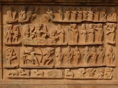 Relief, Thanjavur Temple (Aidan McRae Thomson) Tags: sculpture india temple carving relief thanjavur hindu tamilnadu chola
