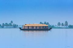 houseboat ([s e l v i n]) Tags: india house houseboat kerala backwaters allepy allapuzha backwatersofkerala keralatourism keralatravel allepybackwaters picturesofkerala selvin
