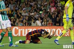 Betis - Barcelona 071 (VAVEL Espaa (www.vavel.com)) Tags: fotos bara rbb fcb betis 2016 fotogaleria vavel futbolclubbarcelona primeradivision realbetisbalompie ligabbva luissuarez betisvavel barcelonavavel fotosvavel juanignaciolechuga