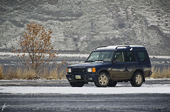 Land Rover Discovery SE7 (Take 2) (JH Photographie) Tags: railroad classic expedition nikon 4x4 outdoor rover off land vehicle british discovery range overland roader 18200mm se7 d7000