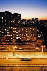 000042 (adam sharp) Tags: winter sunset sun tower film home architecture 35mm stpetersburg photography living apartments russia olympus fujifilm blocks saintpetersburg superia400 setting mjuii stp filmphotography россия mju2 fujifilmsuperia μmjuii санктпетербу́рг