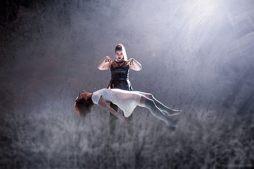 Levitation photoshoot last spring with Elena and her stepsister Jenis