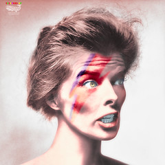 Icons - Kate (Billy-Fish) Tags: david color colour art digital silver star photo bowie katherine icon screen photographic restoration hepburn colourisation billyfish