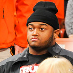 Recruits at Clemson-Miami Bball game Photos