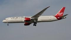 "Virgin Atlantic 787-900 Dreamliner ""Miss Moneypenny"" (G-VSPY) LAX Approach 2 (hsckcwong) Tags: lax 787 virginatlanticairlines missmoneypenny dreamliner virginatlanticairways 7879 787900 gvspy"