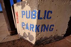 No Public Parking (mikerosebery) Tags: newmexico taos nm
