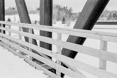 Bridge Structure (chrism229) Tags: film summilux50 leicam2 fujineopan400 kodakhc110 film:iso=400 film:brand=fuji developer:brand=kodak developer:name=kodakhc110 film:name=fujineopan400 hasselbladx1 filmdev:recipe=10611