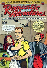 Romantic Adventures 11 (Michael Vance1) Tags: woman man art love comics artist marriage romance lovers dating comicbooks relationships cartoonist anthology silverage