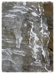ice on my neighbor's house (karma (Karen)) Tags: ice stone maryland baltimore neighborhood blizzard