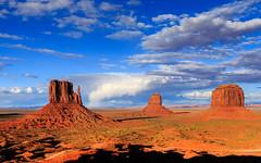 Arc-en-ciel à Monument Valley (Matthieu THIERRY) Tags: sunset arizona unitedstates monumentvalley coucherdesoleil étatsunis oljatomonumentvalley