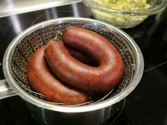 cabbage sausage (Riex) Tags: food switzerland suisse dish swiss sausage meat pork meal cabbage tradition nourriture regional authentic porc saucisse viande authentique vaudois saucisseauxchoux g9x