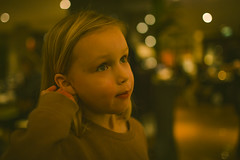 "20160205_F0001: ""I'm scratching my ear"" (wfxue) Tags: portrait people girl eyes child natural bokeh candid ear"