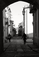 Rua Direita (vmribeiro.net) Tags: street bw portugal sony rua tamron caminha direita a350