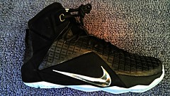 """My newest kicks. These Nike LeBron 12's are called """"Rubber City or Rubber & Chrome. #RigsRocks #Nike #Lebron12s #RubberCity #Rubber&Chrome #2015 #NBA #Kicks #Elite #Dope  #WhatIsDope (RigsRocks) Tags: very indeed elite dope dopey so nike 2015 lebron12s kicks rigsrocks whatisdope nba rubbercity rubberchrome"""