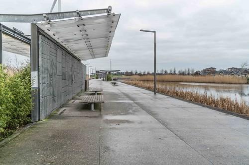 Wind Powered Public Park In Clongriffin Dublin [Father Collins Park]-110938