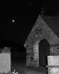 464A4844 (Cilmeri) Tags: moon wales venus churches luna astrophotography planets astronomy nightshots nightsky snowdonia lunar gwynedd eryri trawsfynydd stmadryn snowdoniadarkskies