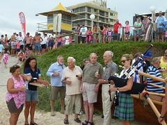 Palm Beach (Qld) SLSC - Launch of refurbished surfboat Palm Beach 2016 - Photo Lloyd Kenny P1100436 (john.robert_mcpherson) Tags: beach palm qld launch refurbished 2016 slsc surfboat