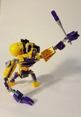 Lego Mixel Moc, Series 7, Simechian. (miketvas) Tags: robot lego series mech moc mixel mixels legomixelmoc legomixelmocseries7simechian legomixelsmoc