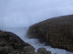 P1020147 (Cintia Billmaier.) Tags: strand mar meer marejada playa welle ola cantabria suances arbolada lumixtz60