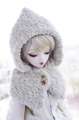 Winter Song (Alix Real) Tags: winter ball asian switch doll dolls body handmade super sd cape hood bjd dollfie hybrid sd10 abjd noella hooded jointed bjds sd13 leeke leekeworld abjds dollga godolls ariadoll