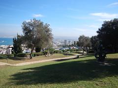 The sculpture garden, Haifa (Fufulula, thanks for 1,5 million visits) Tags: uk mediterranean haifa sculpturegarden bluesea ursulamalbin