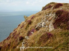 Where Moorland Meets the Sea (john shortland) Tags: sea england nationalpark rocks heather atlantic devon moorland westcountry exmoor bristolchannel countisbury