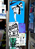 stickers amsterdam (wojofoto) Tags: streetart amsterdam graffiti sticker stickers pressone wojo wolfgangjosten wojofoto