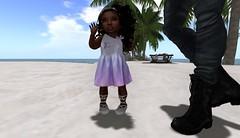 + Aloha O'e + (Nyah Aaliyah Pana Kouyama) Tags: baby fashion blog kid mesh blogger clothes sl secondlife toddleedoo