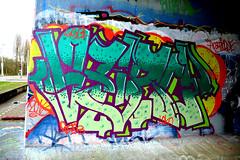 graffiti amsterdam (wojofoto) Tags: holland amsterdam graffiti nederland netherland hof flevopark amsterdamsebrug wolfgangjosten wojofoto