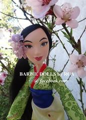 Disney Princess Royal Shimmer Mulan by Hasbro (Barbie dolls by RCA) Tags: by princess royal disney shimmer hasbro mulan 2016