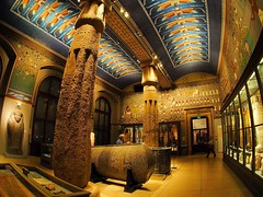 Ancient Egypt room in the Art History Museum in Vienna. From my December trip. (cristi boian) Tags: vienna wien museum fisheye arthistory ancientegypt instagramapp