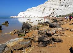 Scala dei Turchi, Sicilia (angelbruno92) Tags: sea sky white landscape mare cielo scala sicily bianco dei sicilia turchi