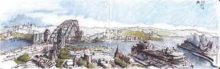 Sydney Harbour - In port