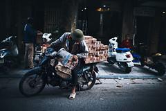 The Vietnamese Style of Transportation #1 (desomnis) Tags: street travel urban person asia southeastasia transport streetphotography streetlife vietnam motorbike transportation traveling hanoi travelphotography streetcandid sigma35mm canon6d desomnis