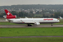Swissair McDonnell Douglas MD-11 HB-IWM (Kambui) Tags: airplane airplanes planes zrich aviones avions kloten swissair zrh flugzeuge  avies aeroplani kambui