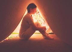 115/365 (HJayM) Tags: portrait selfportrait me sitting glow fort tent indoors blanket glowing inside 365 stringlights blanketfort chrismaslights 365project 115365
