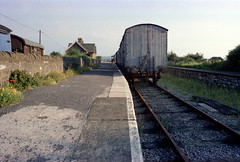 Bitton station (2), 1978 (Blue-pelican-railway) Tags: film station bristol closed railway gloucestershire bitton beeching