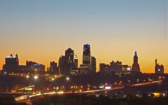 Kansas City skyline before sunrise, 9 Nov 2015 (photography.by.ROEVER) Tags: november kansascity kc 2015 november2015