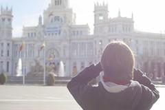 Ayuntamiento de Madrid y La Cibeles (Monica Fiuza) Tags: madrid cibeles ayuntamiento ayuntamientodemadrid