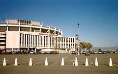 Anaheim Stadium 1989 (Cragin Spring) Tags: california ca usa unitedstates baseball stadium unitedstatesofamerica angels 1989 southerncalifornia ballpark mlb losangelesangels anaheimstadium majorleaguebaseball losangelesrams anaheimca anaheimcalifornia californiaangels aneheimangels
