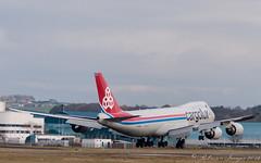 Cargolux 747-8R7 LAX-PIK-3 (.Robinson Images) Tags: uk airplane scotland flying airport transport aeroplane cargo boeing 747 prestwick cargolux pik dash8 ayrshire 7478 lxvcj 7478r7
