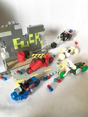AKIRA Micro Motorcycles. LEGO (piroshilego69) Tags: bike lego chibi micro motorcycle akira    micromotorcycle
