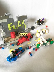 AKIRA Micro Motorcycles. LEGO (piroshilego69) Tags: chibi 大友克洋 bike レゴ アキラ lego micro motorcycle micromotorcycle akira