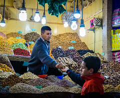 one of many souks in Marrakech (krøllx) Tags: africa street city people photography store souk moroccon nmarokko colorsnshop dsc00837201602281