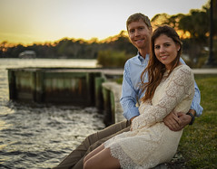 DSC_0691 (will.mcgalliard) Tags: sunset water fountain river balloons engagement baloon ring frame d750 jacksonville ortega