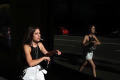 . (ferriswhiskey) Tags: street city light shadow colour 35mm sydney streetphotography australia smoking fujifilm xpro1 ferriswhiskey