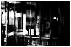 bottles (kazuhiroueda) Tags: show bottle bottles showcase bnw sho showwindow bottlew
