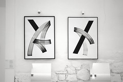 Moving from A to B (Blaqk.) Tags: from b moving geometry exhibition solo calligraphy artworks simek blaqk gregpapagrigoriou